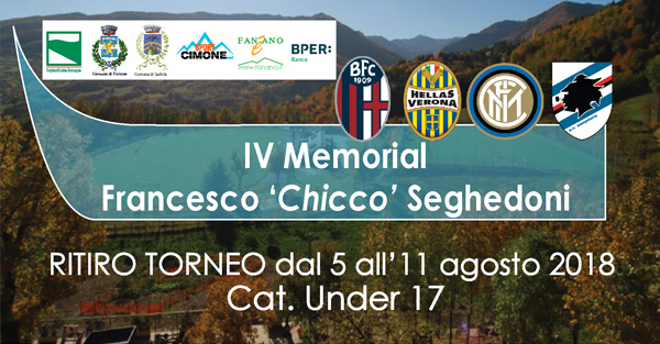 "4° Memorial Francesco ""Chicco"" Seghedoni"